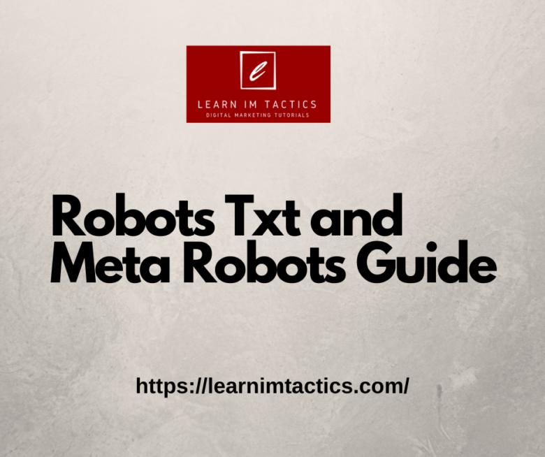 robots txt and meta robots