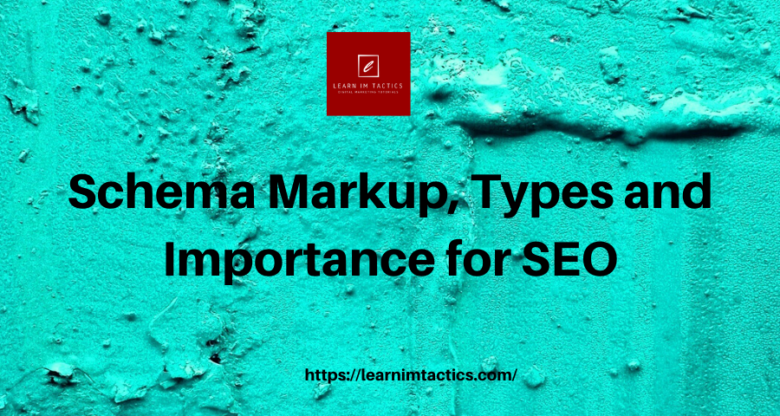 schema Markup Types and SEO Importance