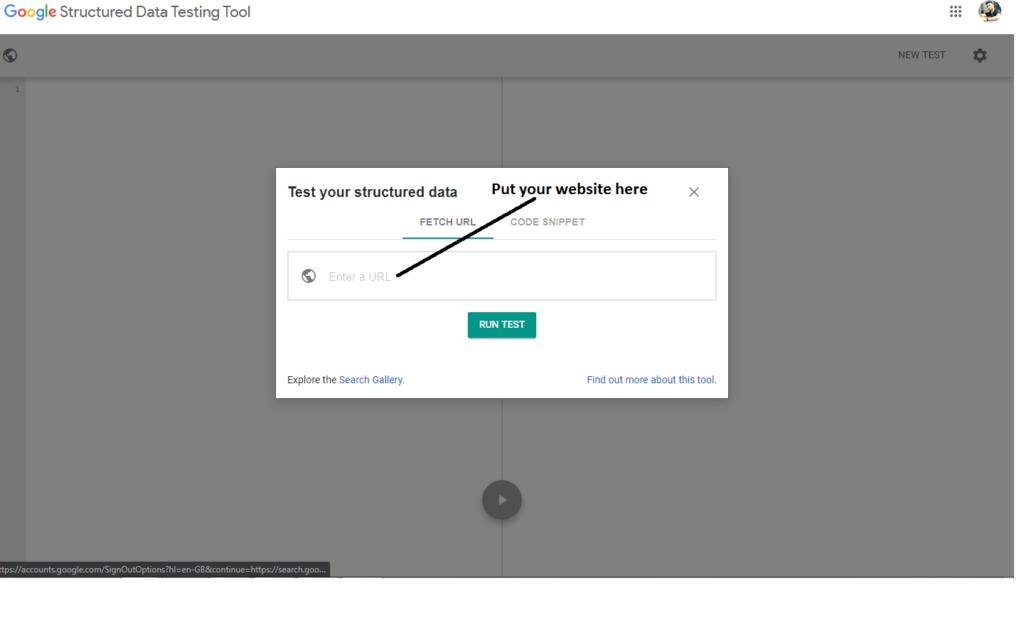 Schema Markup or Structured data check online